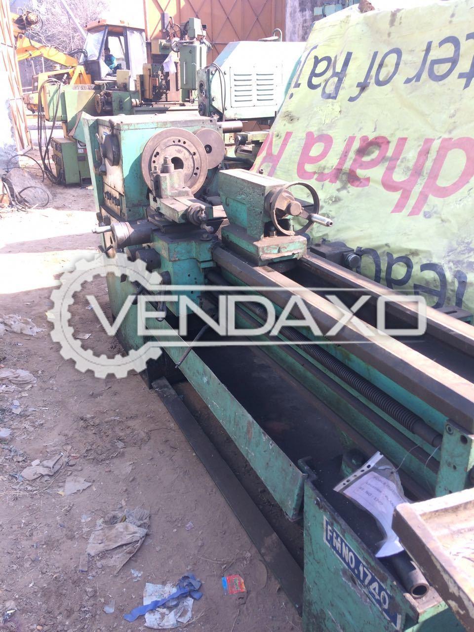 Vikram 1250 Lathe Machine