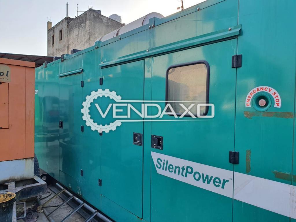 Cummins Diesel Generator - 500 Kva, 2019 Model