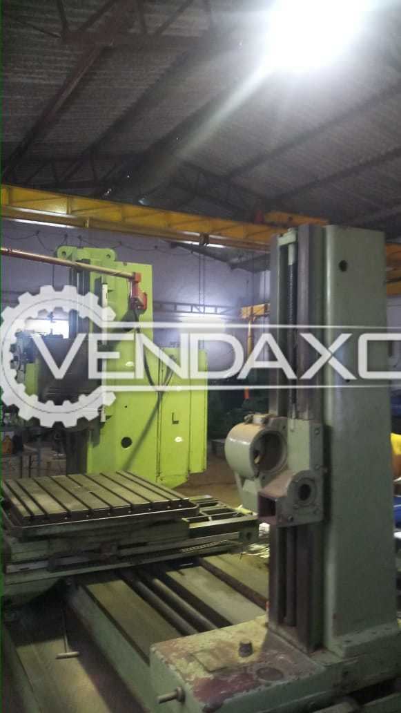 TOS W9 Boring Machine - Table Size - 1120 x 1000 mm
