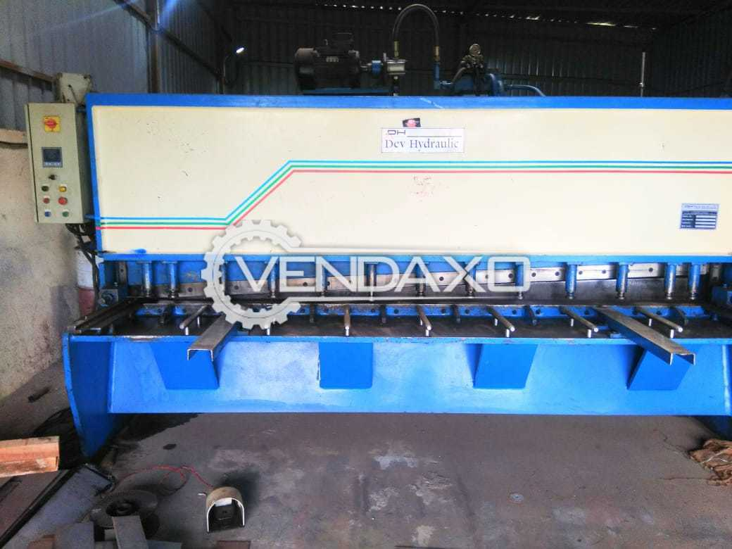 Dev Hydraulic HVR 30 Shearing Machine - 3 Meter x 6 mm