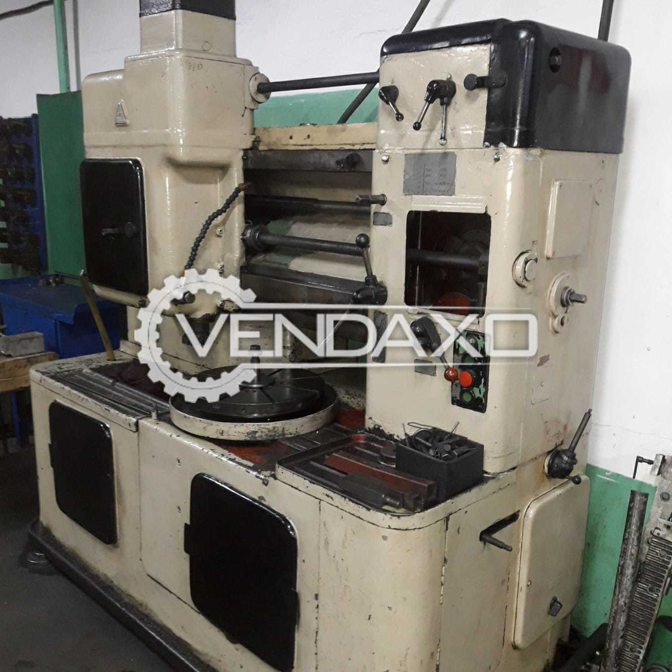 TOS OH6 Gear Shaper Machine - Diameter - 500 mm