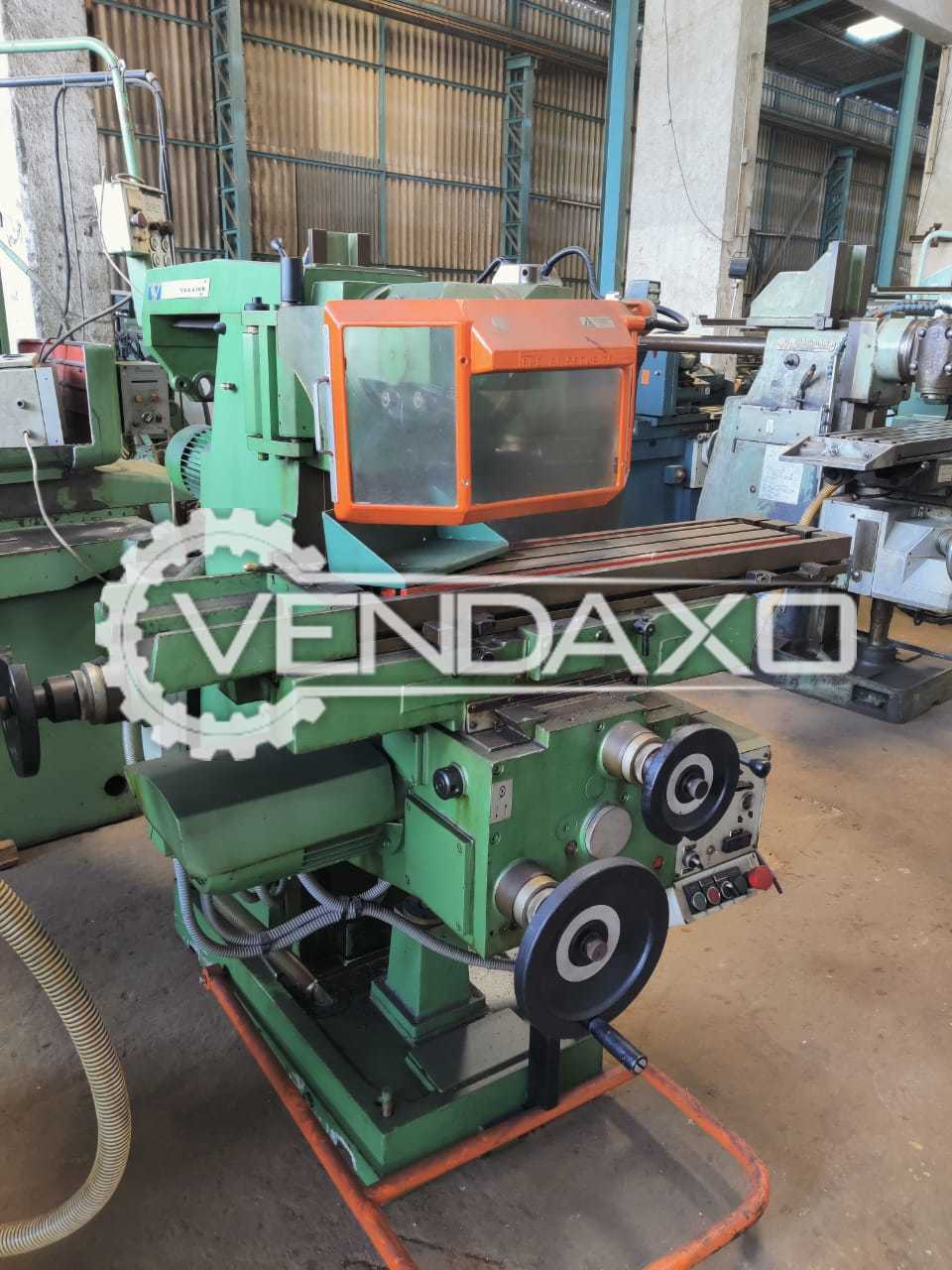 Vernier FV250 Milling Machine - Table Size - 1050 x 250 mm