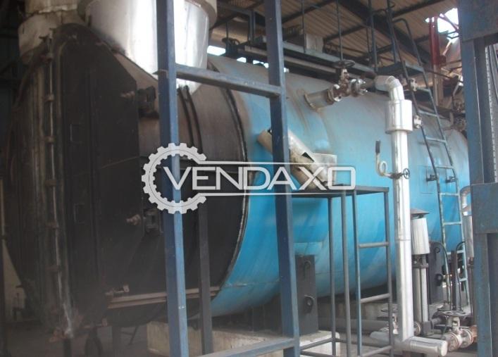 Thermax ENSG D8/15/1 Heat Recovery Steam Boiler - 15 Kg/ Sq.cm