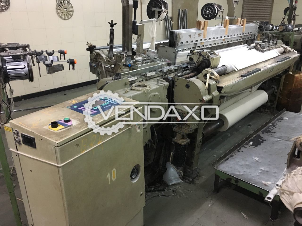 8 Set OF Nuovo Pignone Fast P Rapier Loom Machine - Width - 190 CM