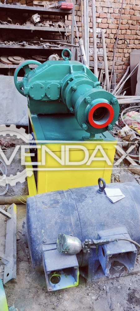 Hot Feed Rubber Extruder Machine - 4 Inch