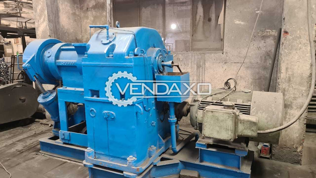 For Sale Used Rubber Strainer Machine - Size - 8 Inch