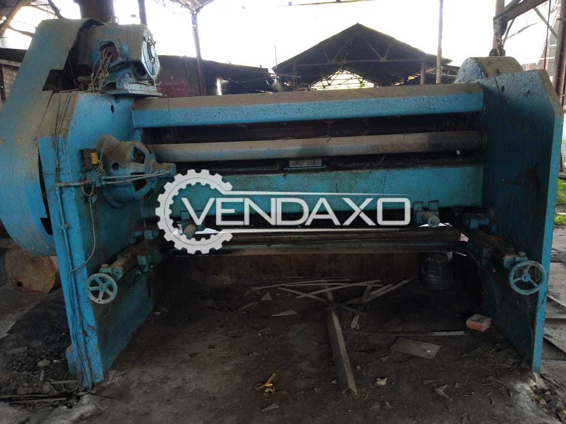WMW Mechanical Type Shearing Machine - 2500 x 12.5 mm