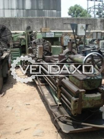 WMW DKZ 800 Heavy Duty Lathe Machine