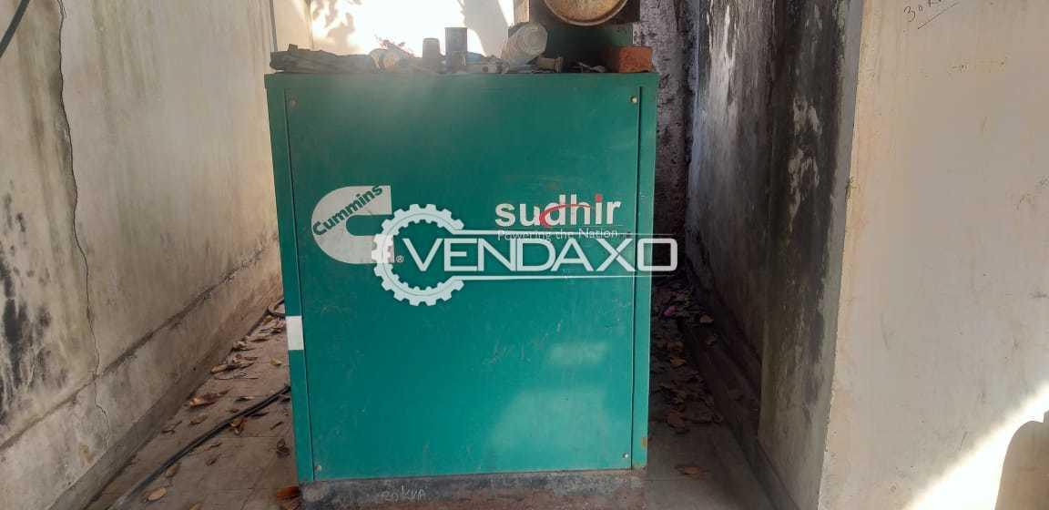 Cummins Sudhir Diesel Generator - 35 Kva, 2012 Model