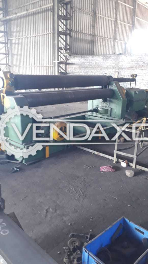 Italy Make Plate Rolling Machine - 3000 x 18 mm