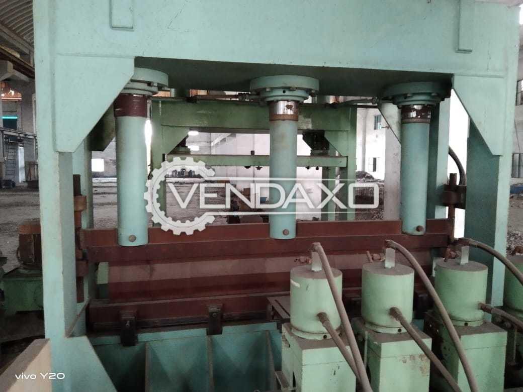 Plate Bending Machine - 2500 x 30 mm
