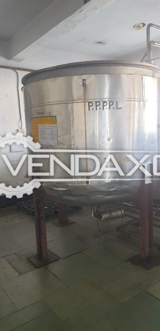 For Sale Used Storage Tank - 3.5 KL