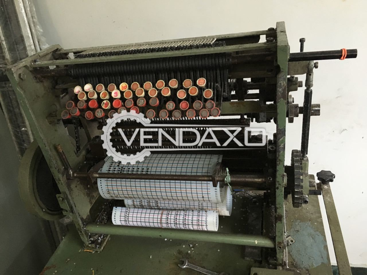 For Sale Used Card Punching Machine - 4 mm