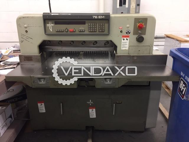 Polar Mohr 76 EM Paper Cutting Machine - Size - 30 Inch