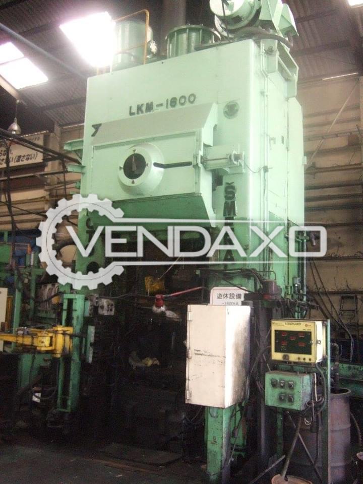 2 Set OF Smeral LKM-1800 Hot Forging Machine - 1800 Ton