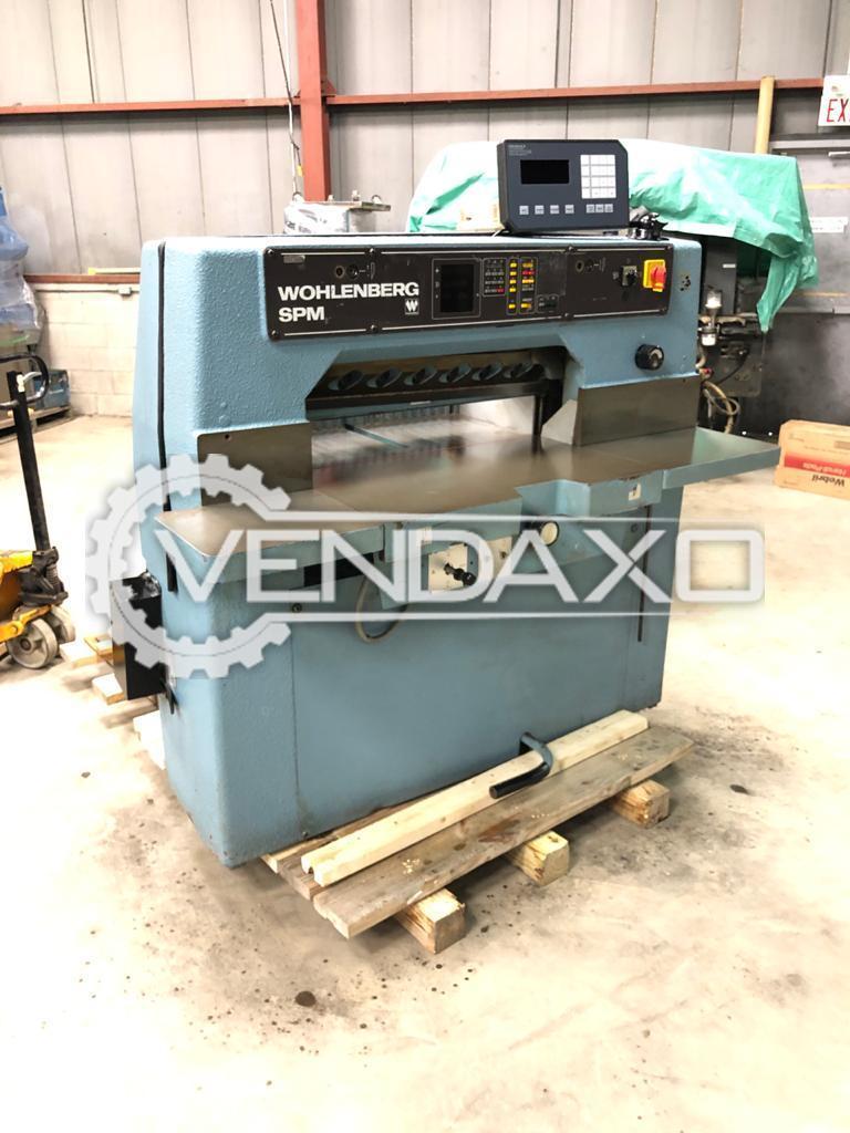 Wohlenberg SPM Paper Cutting Machine - Size - 30 Inch