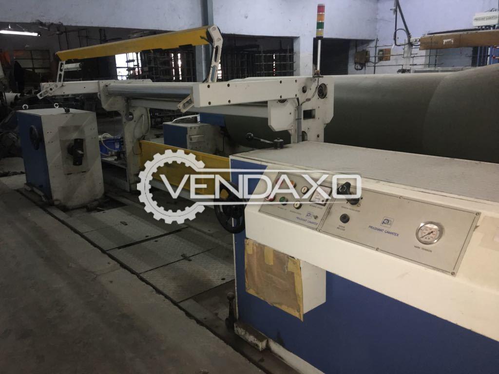 Prashant Gamatex MP118STRON Sectional Warping Machine - Width - 220 CM
