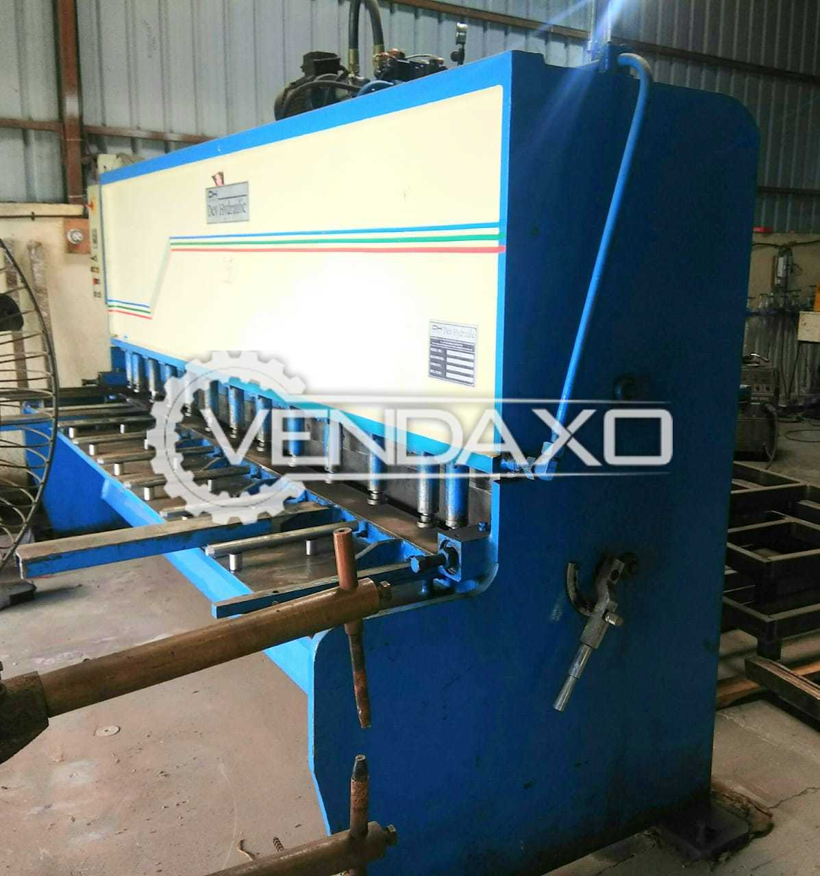 For Sale Used Shearing Machine - 3000 x 6 mm
