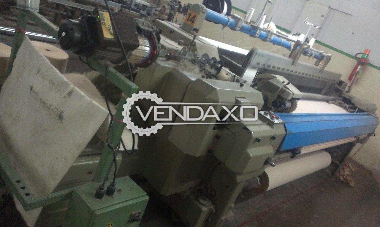 8 Set OF Nuovo Pignone TP500 Rapier Loom Machine - Width - 220 CM