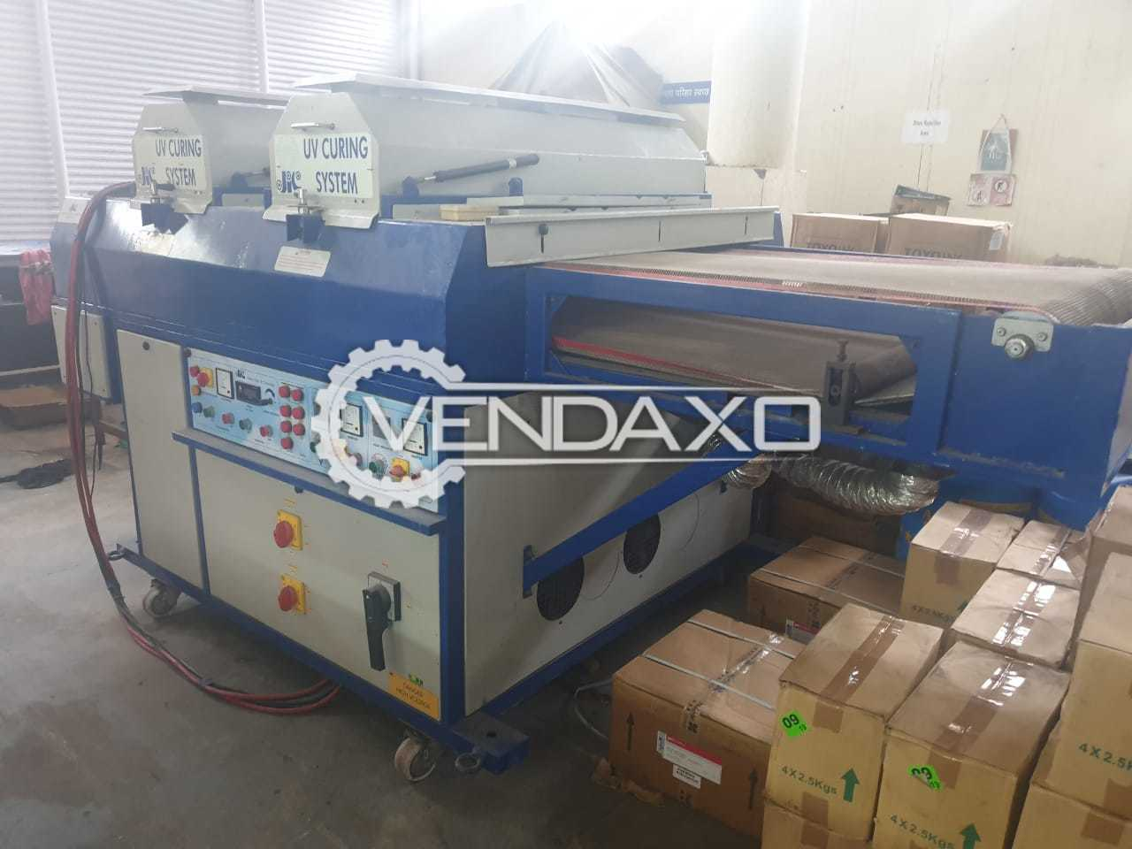 For Sale Used JIC UV Curing System - Size - 40 Inch