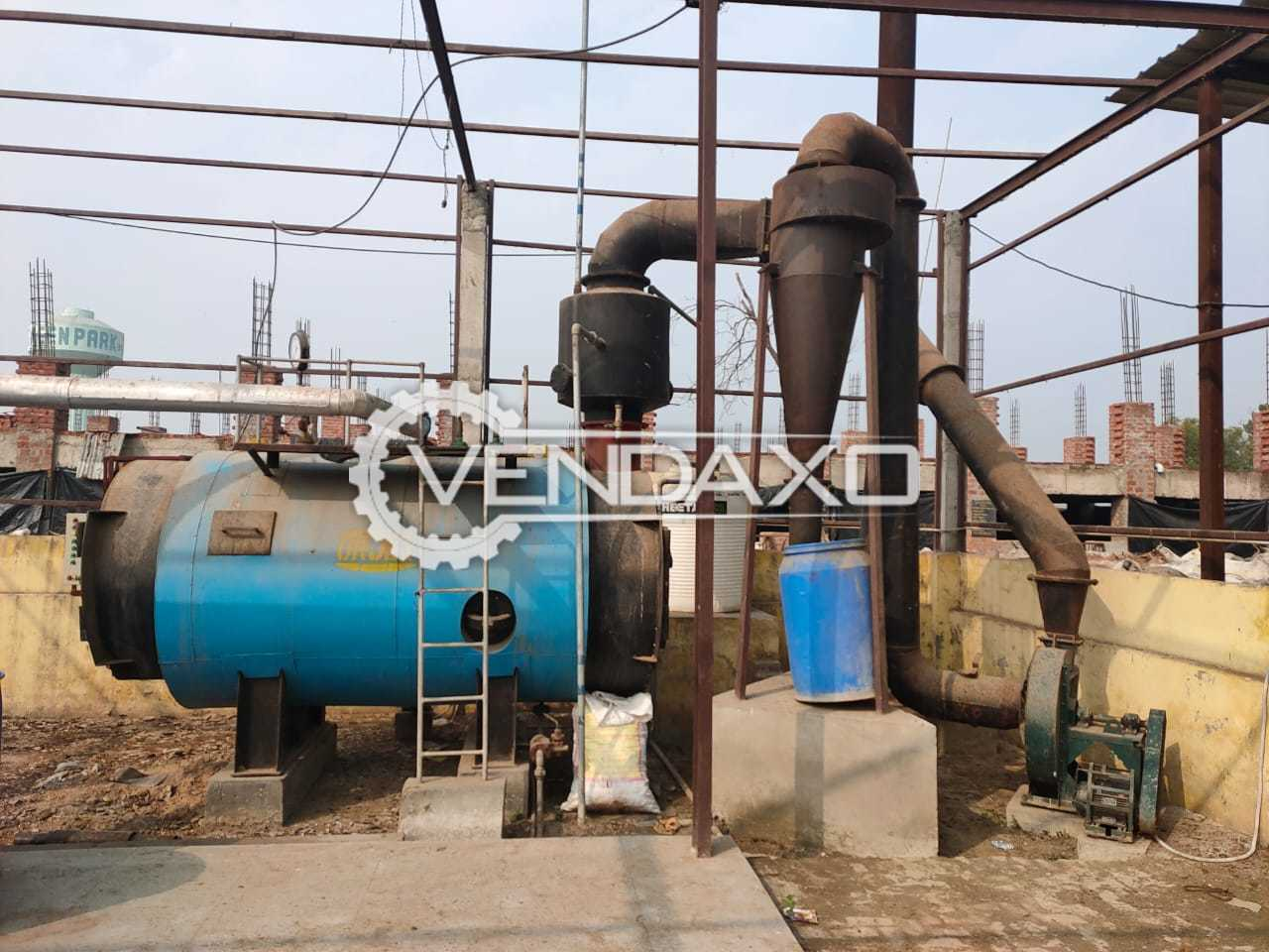 For Sale Used Steam Boiler - 1 Ton With IBR Certificate
