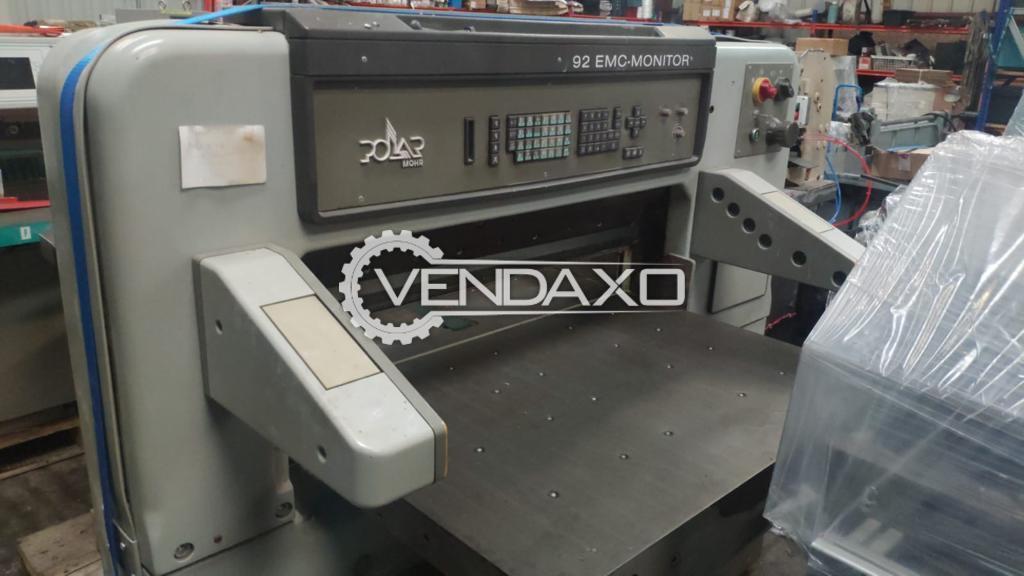 Polar Mohr 92 EMC Monitor Paper Cutting Machine - Size - 36 Inch