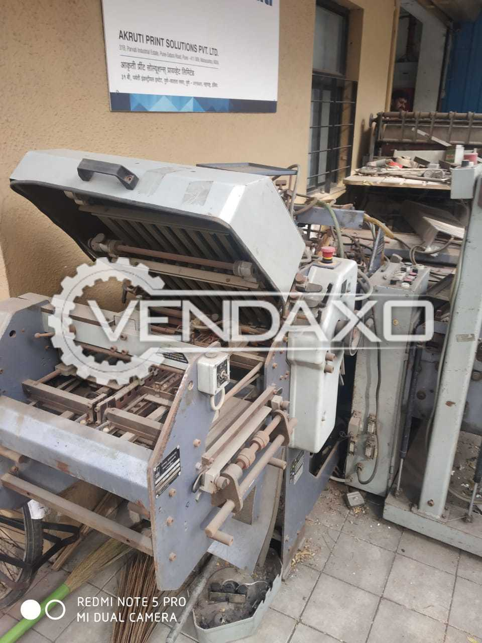Stahl T36/4-KB-P2 Paper Folding Machine - Size - 12 x 18 Inch