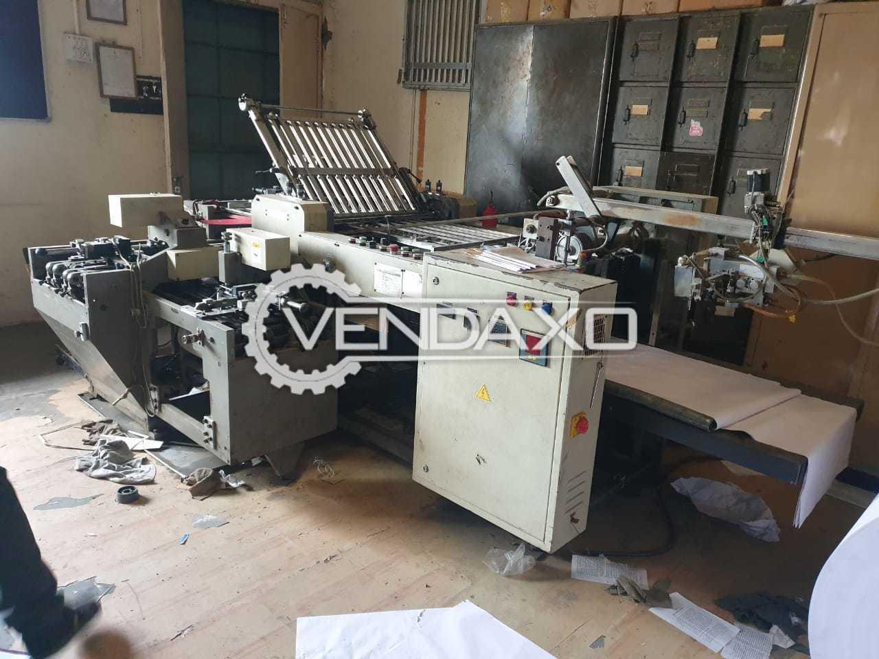 Ratan Paper Folding Machine - Size - 25 x 36 Inch