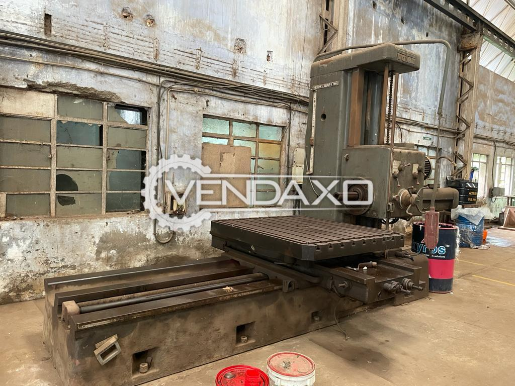 For Sale Used Boring Machine - Table Size - 1700 x 1520 mm