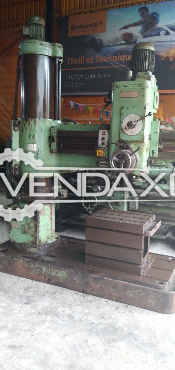 HMT RM62 Radial Drilling Machine - 50 mm