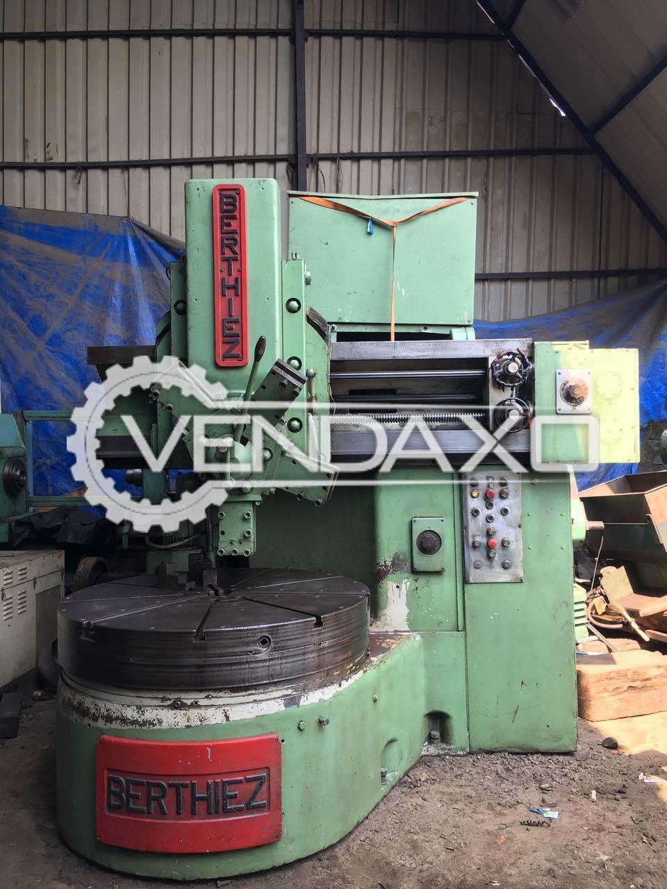 Berthiez Vertical Turret Lathe Machine