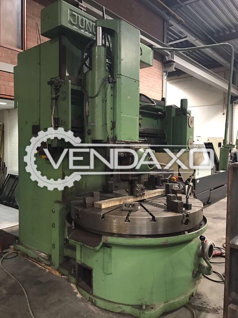 Juganthal Vertical Turret Lathe Machine