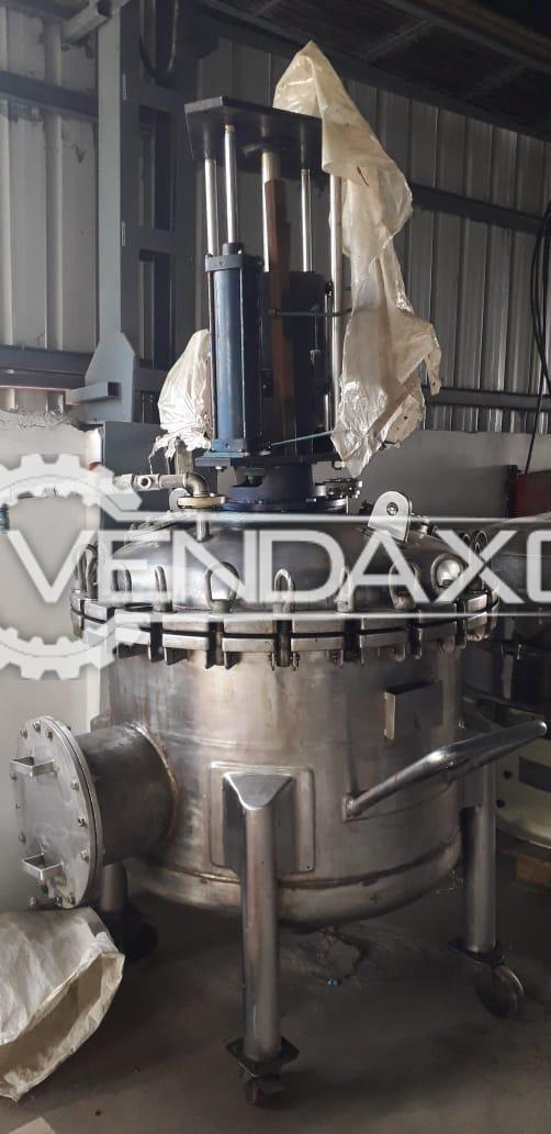 For Sale Used Reactor - 500 Liter
