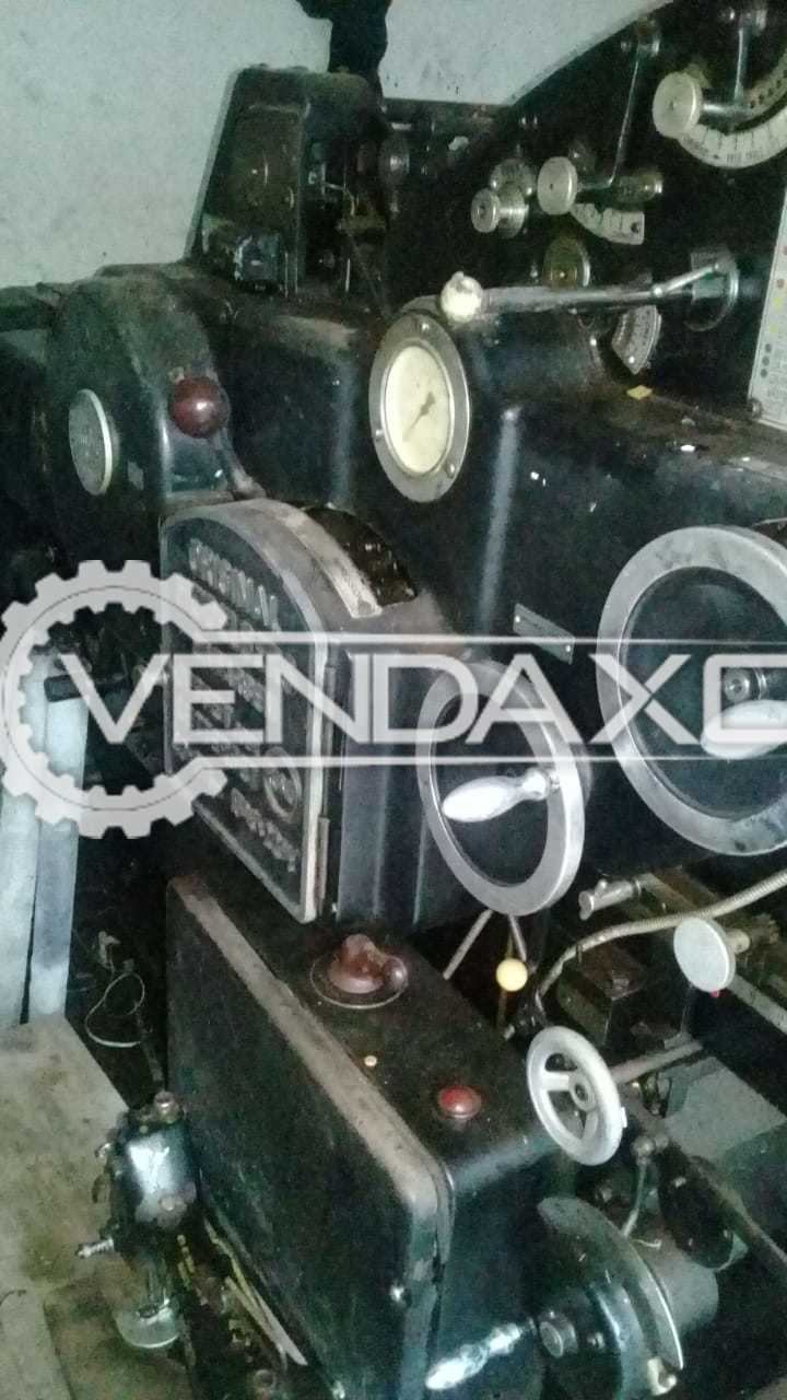 Heidelberg Cylinder Die Cutting Machine - 15.5 X 21.5 Inch