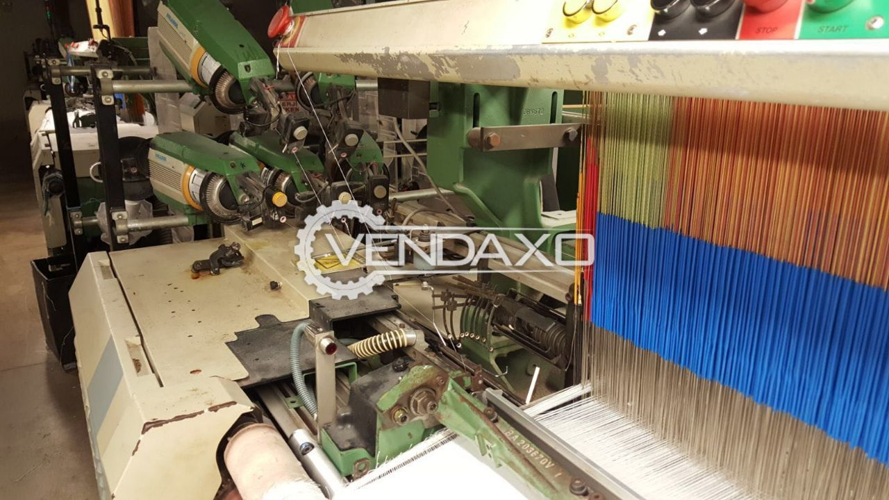 Used Picanol GTX Loom With Jacquard for Sale at Best Prices