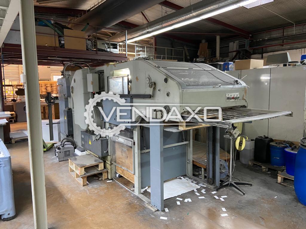 BOBST SP 900E Die Cutter Machine - Size - 23 x 36 Inch