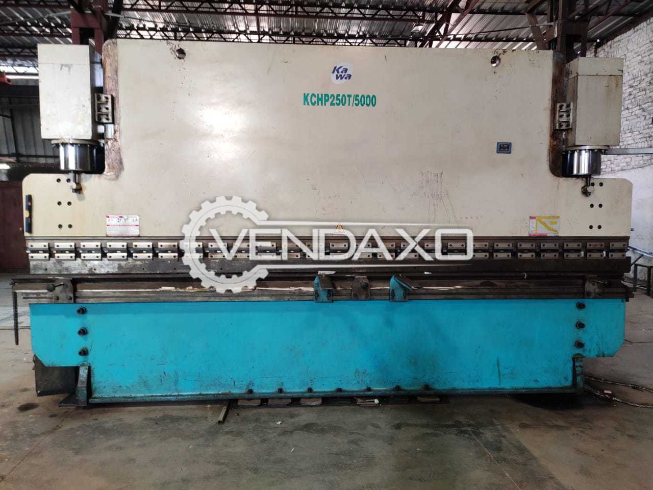 Kawa KCHP 250T/5000 Press Brake - 250 Ton x 5000 mm