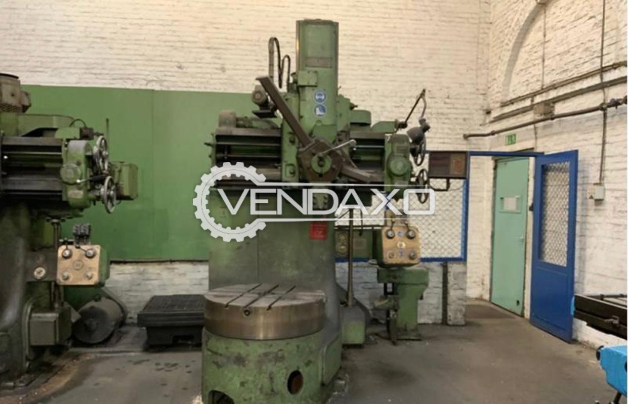 Webster & Bennett Vertical Turret Lathe VTL - Chuck Size - 36 Inch
