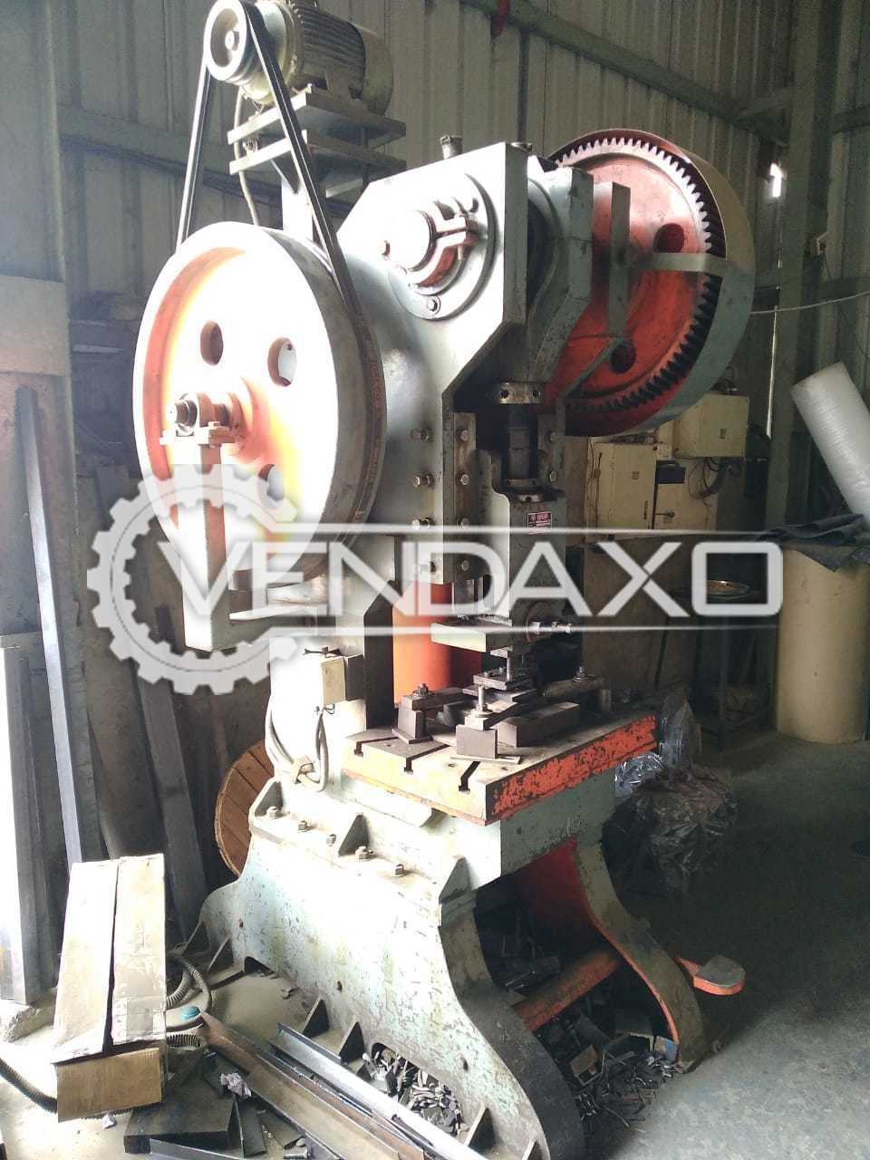 For Sale Used Double Gear Power Press - 75 Ton