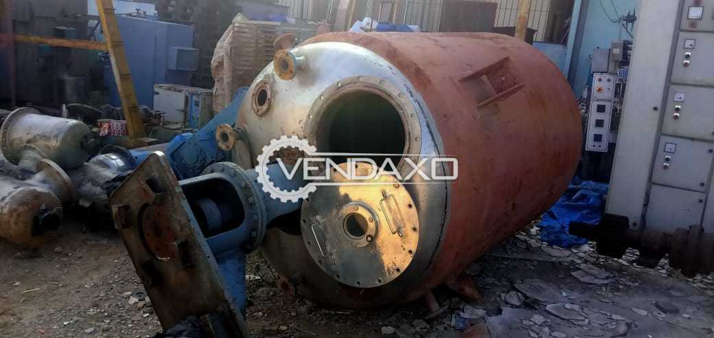For Sale Used Reactor - 4.5 KL