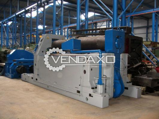Bronx Plate Rolling Machine - 3500 x 50 mm