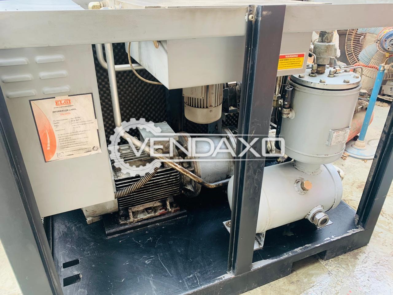 ELGI E15 Screw Air Compressor - Motor - 15 HP