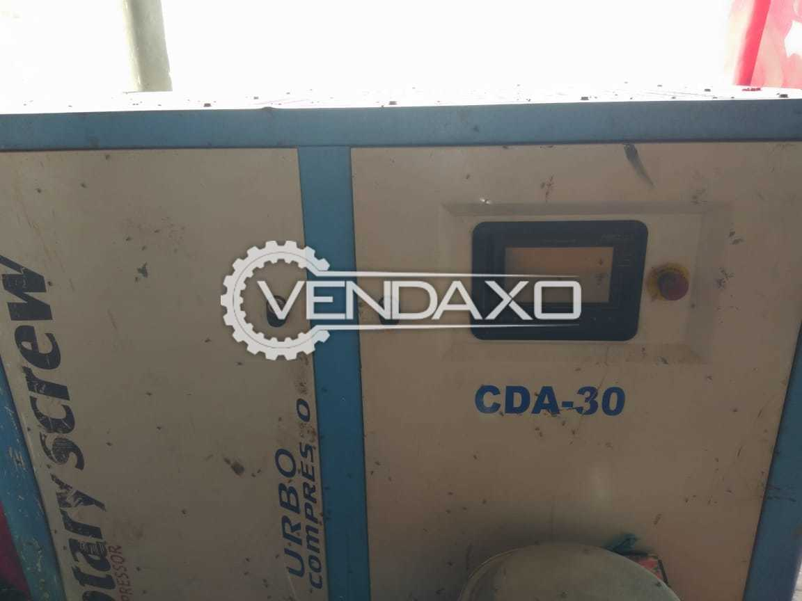 For Sale Used CDA-30 Rotary Screw Compressor - 40 HP