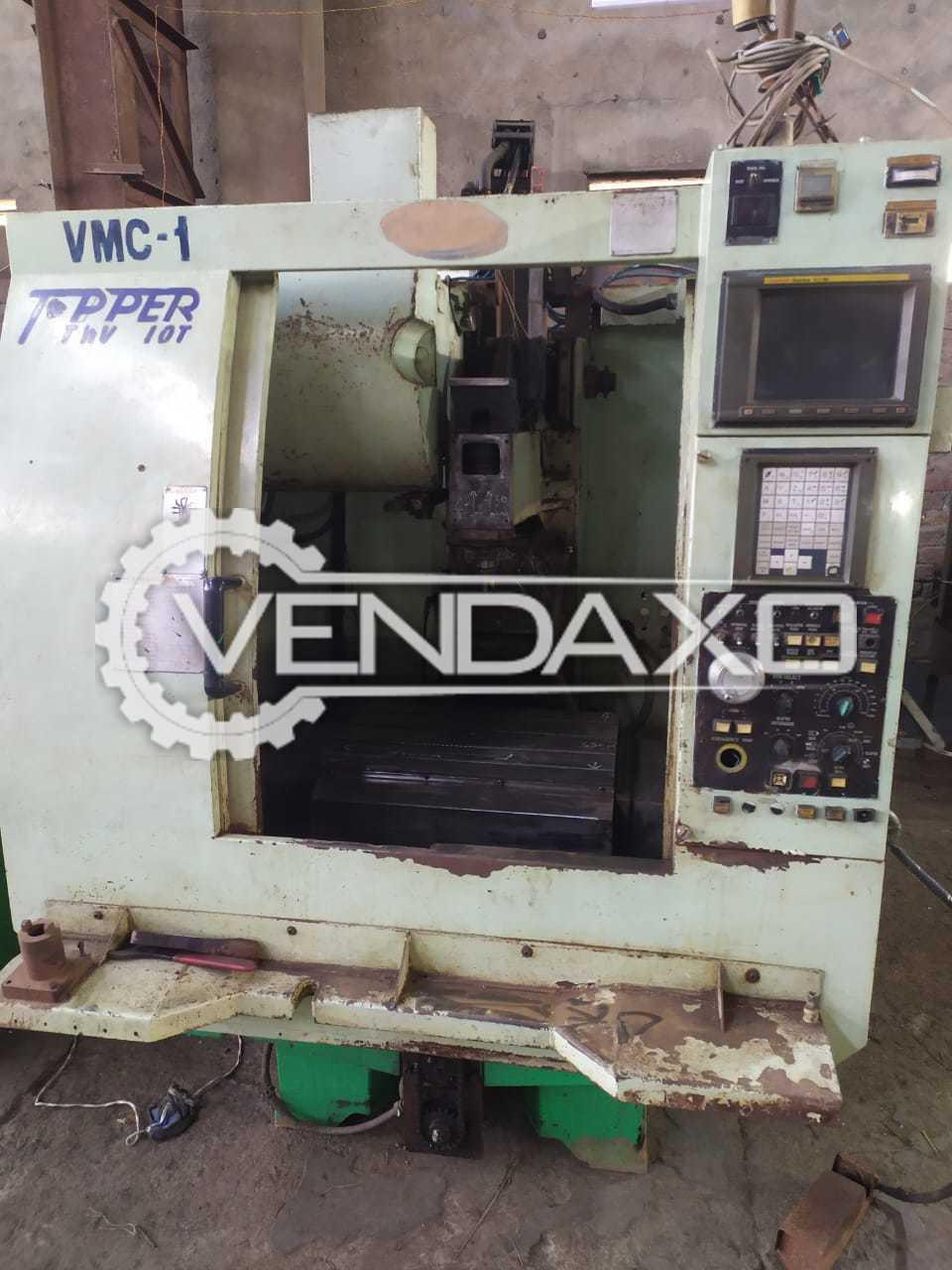 Topper TMV 510V CNC Vertical Machining Center VMC - 510 x 360 x 430 mm