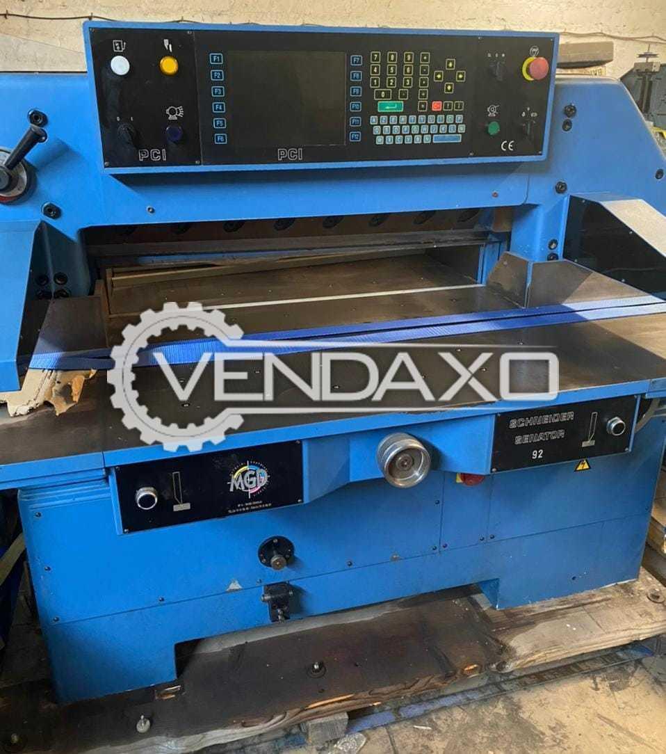 Schneider Senator 92 Paper Cutting Machine - 36 Inch
