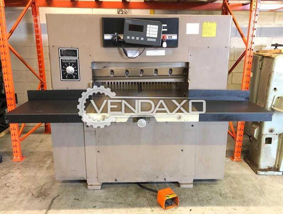 Challenger 37 Paper Cutting Machine - Size - 37 Inch