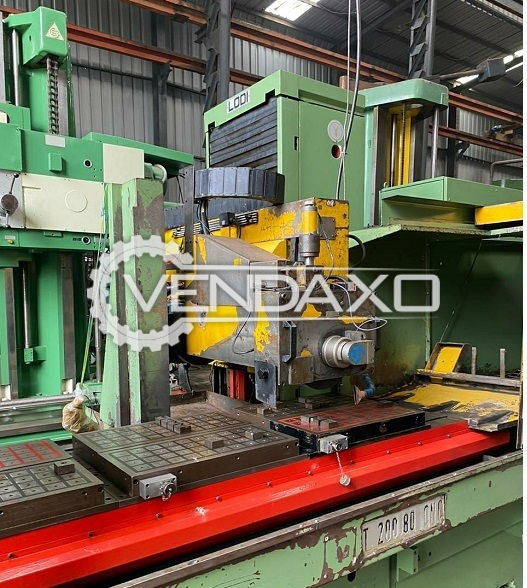 Lodi Surface Grinder Machine - 2500 x 800 mm