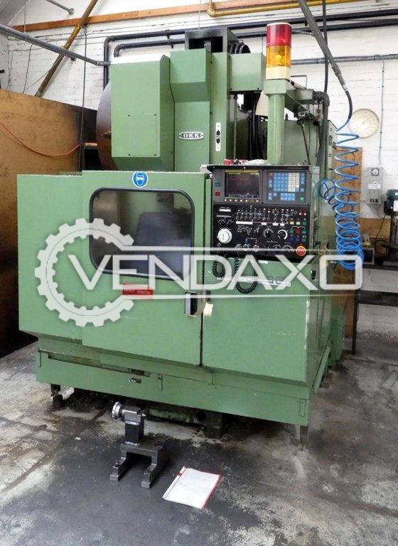 OKK PVC 40 CNC Vertical Machining Center VMC - 4 Axis