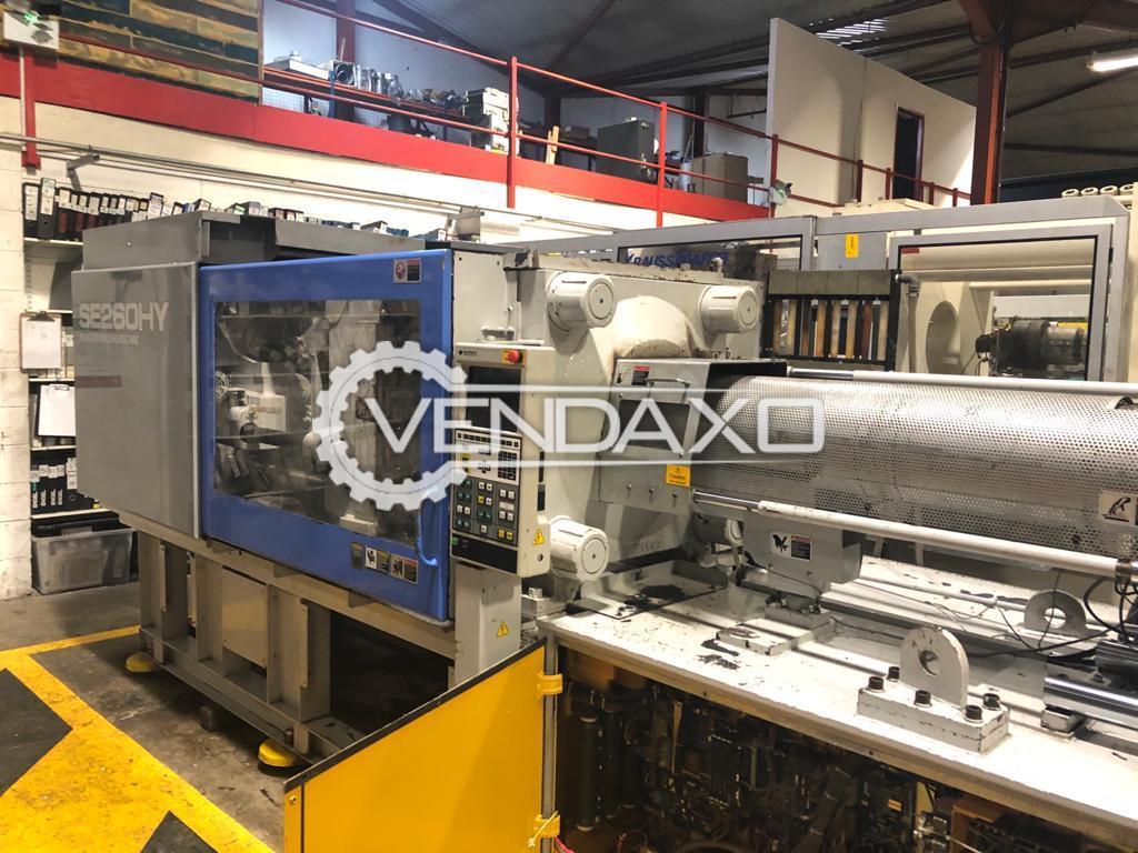Sumitomo C1600 Injection Moulding Machine - 260 Ton