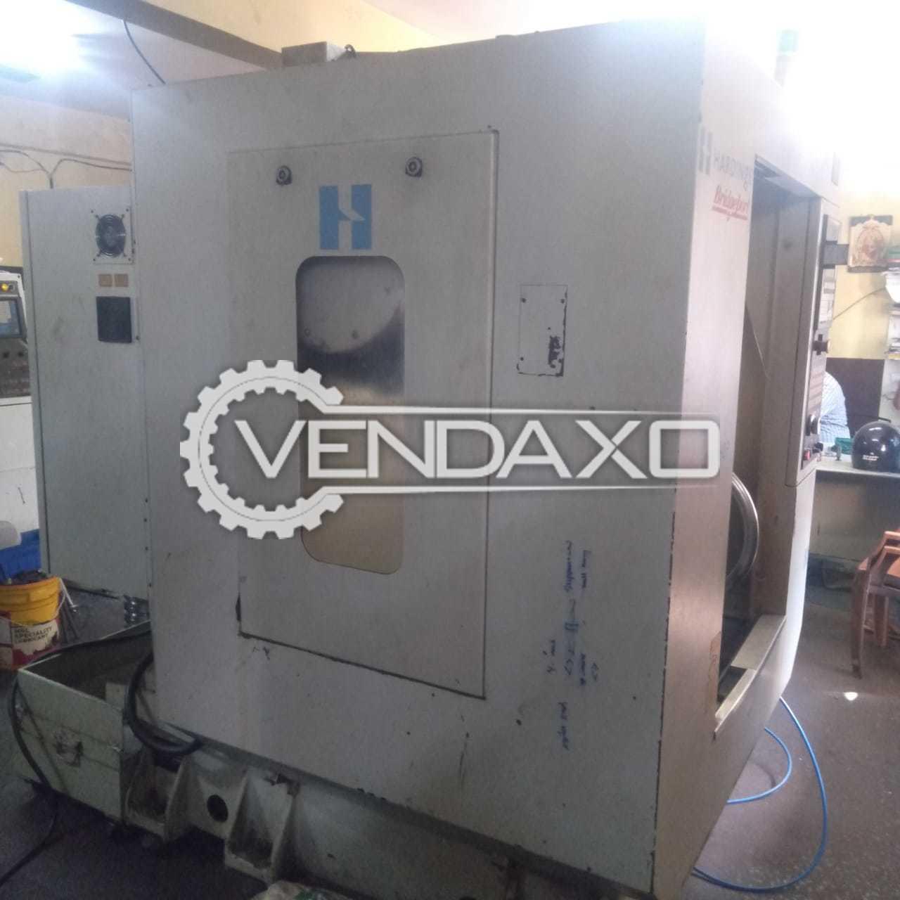 Hardinge CNC Vertical Machining Center VMC - Table Size - 600 x 400 mm